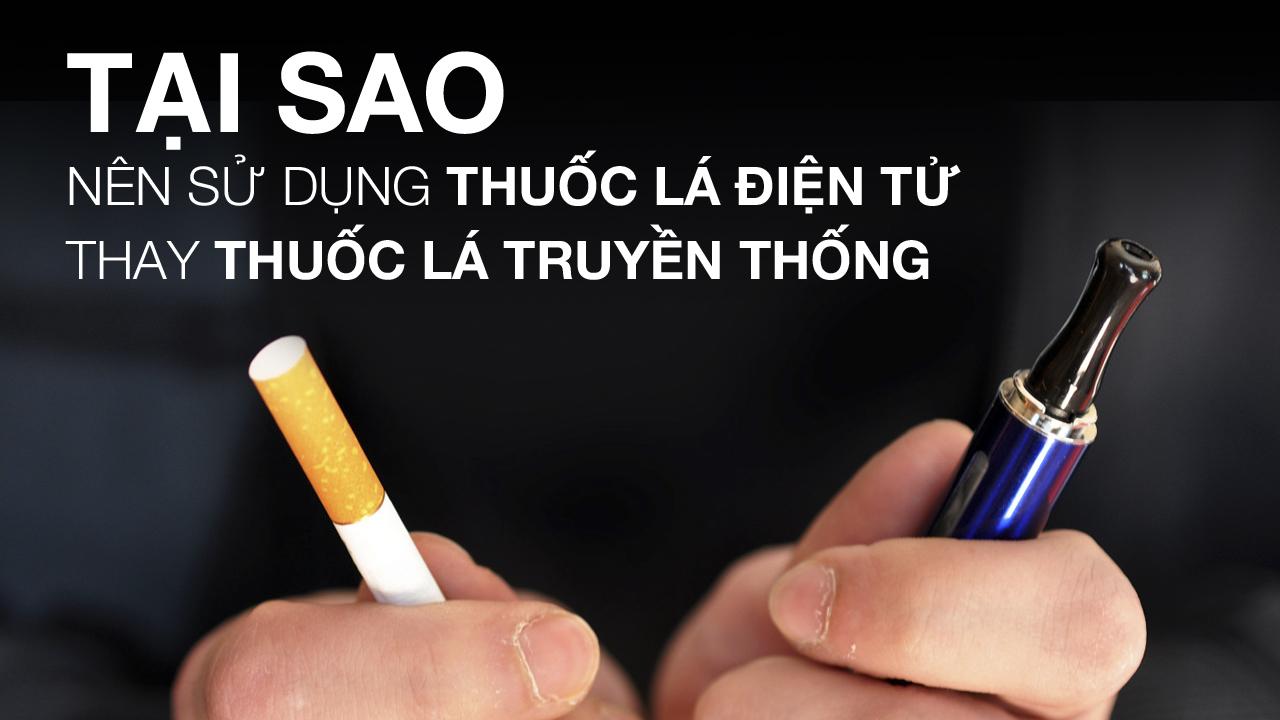 Có nên cai thuốc lá bằng Vape Pod system