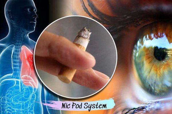 Hút thuốc lá ảnh hưởng tới thị lực